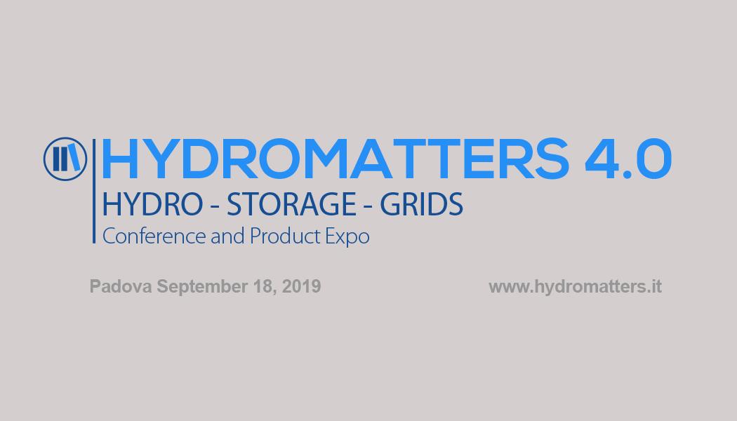Meet API® at Hydromatters 4.0 - 16.09.19