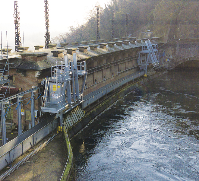 Raw Water Intake Trash Rake Systems